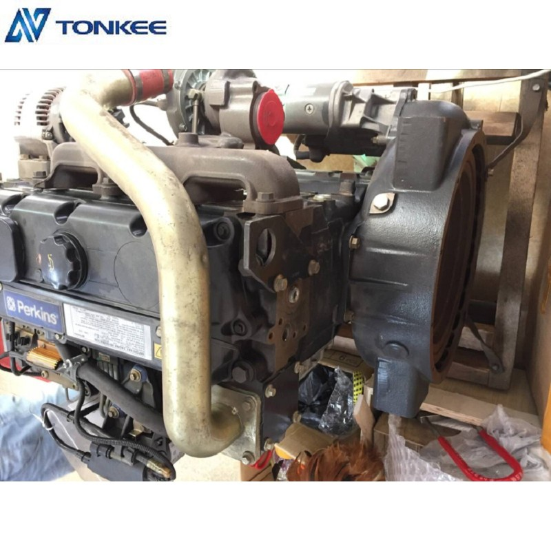 1104C-44T Genuine New Complete engine Assy 1104C-44T EM07126 RG38577 engine Assembly 74.5Kw in stock