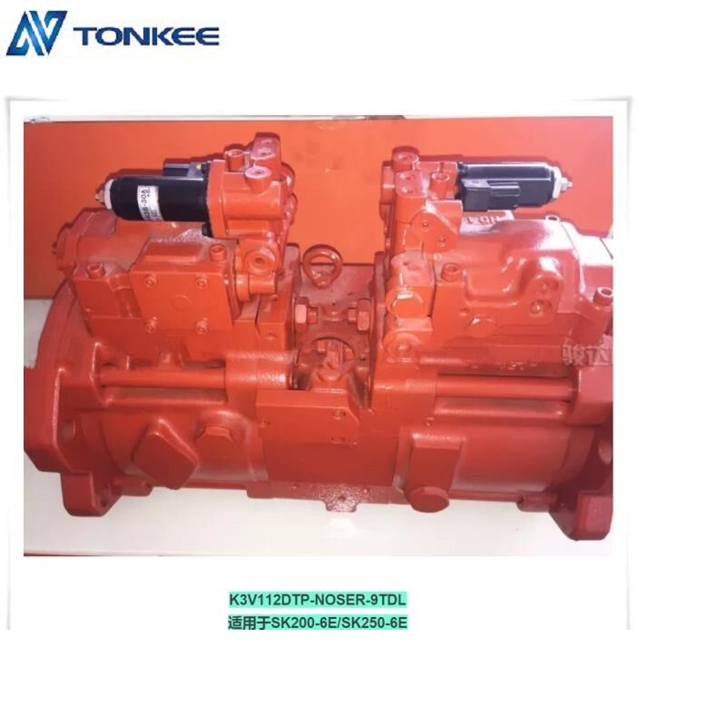 K3V112DTP-NOSER-9TDL Main Pump ,K3V112DTP Hydraulic Main Pump ,HANDOK Piston Pump ,Use for KOBELCO SK200-6E 250-6E Hydraulic Excavator