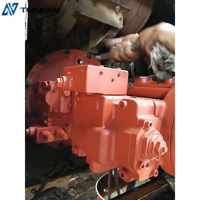 K3V112DT Hydraulic Pump Convert to HPV95 Used Pump Fit For PC200-6