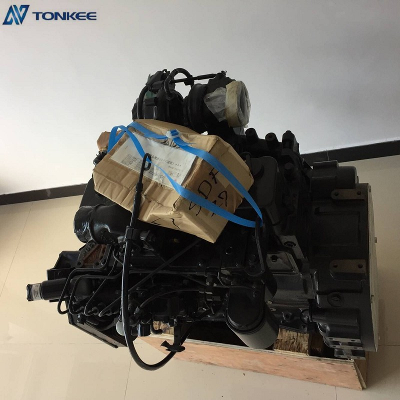 4BTAA B3.9-C Complete Engine Assembly 4BTAA Desiel Engine Assy 26494428 for HYUNDAI Hydarulic Excavator