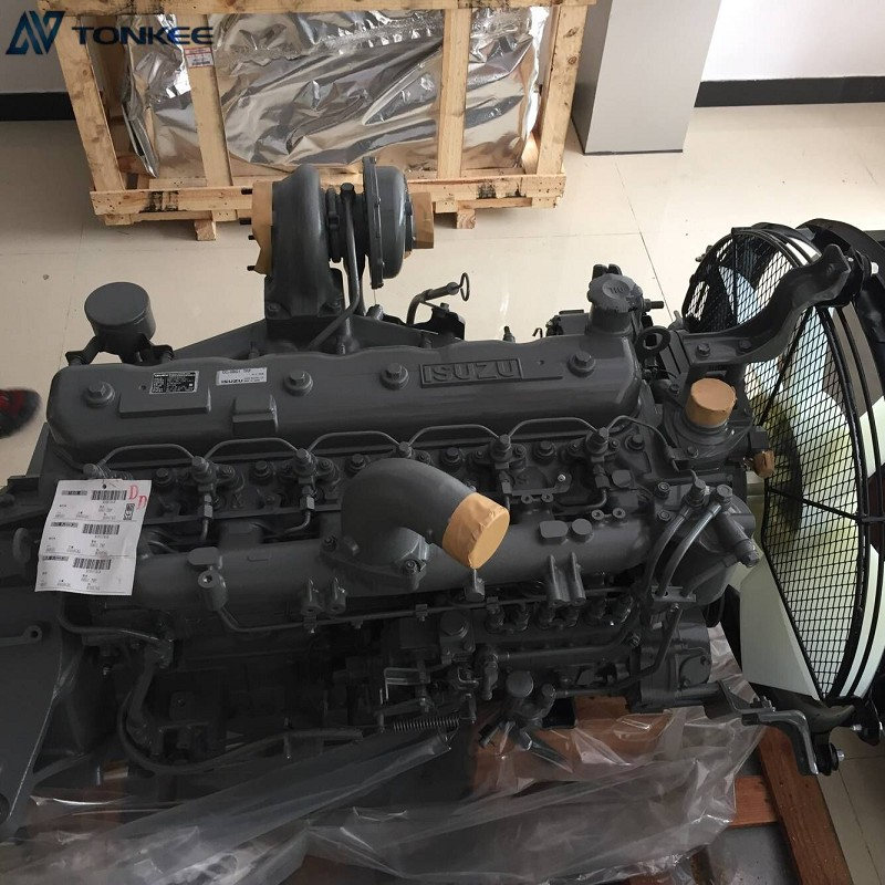 CC-6BG1 TRP Complete Engine ASSY 6BG1 Engine ASSY HITACHI Excavator Engine ASSY For ZX200-3G ZX200