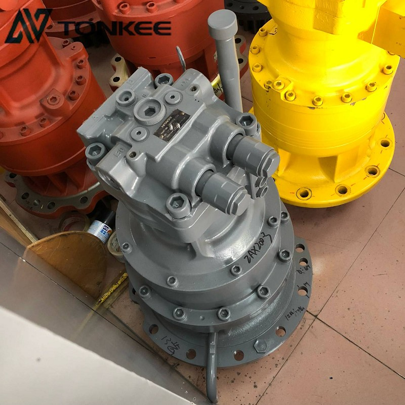 4398514 swing motor assy with gearbox HMGF11CB zx200-3 rotation motor assembly ZAXIS 200LC swing device