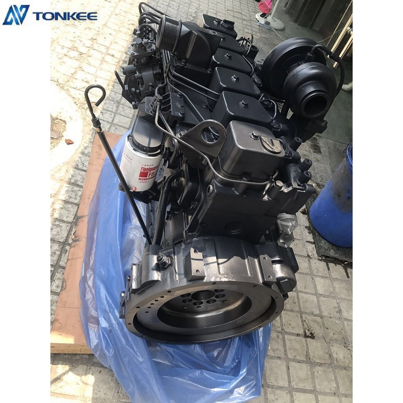 SAA6D102E-2 Diesel engine assy China made New 6BT5.9 Complete Engine assy For PC200-7