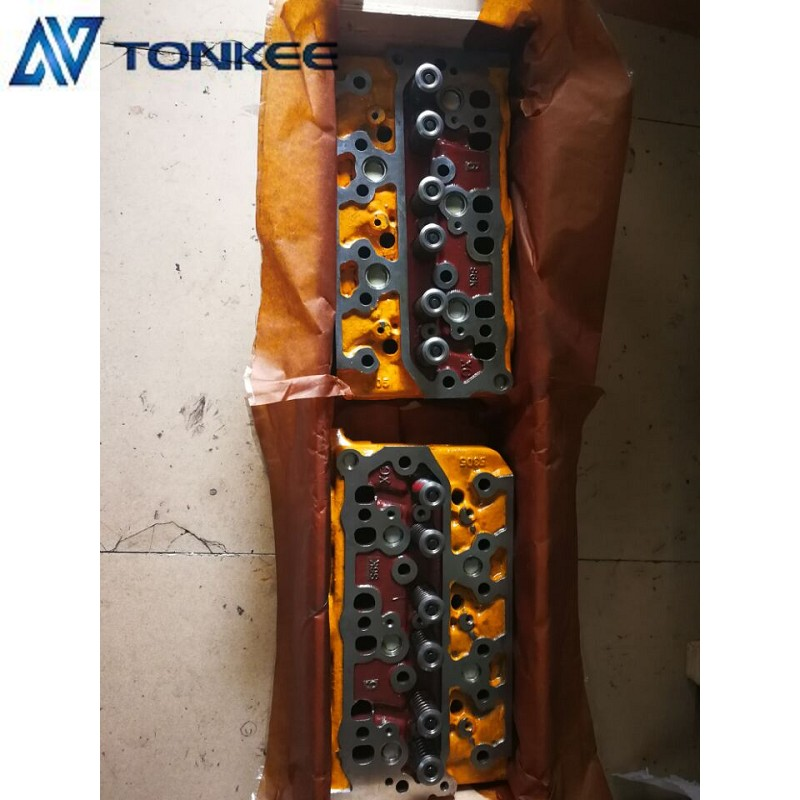 S6K Cylinder head assy E320C engine Cylinder head 34301-01060 with cooling system Cat  320B Cylinder cover