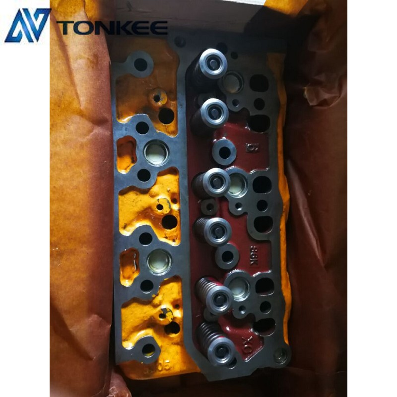 S6K Cylinder head assy E320C engine Cylinder head 34301-01060 with cooling systerm Cat  320B Cylinder cover