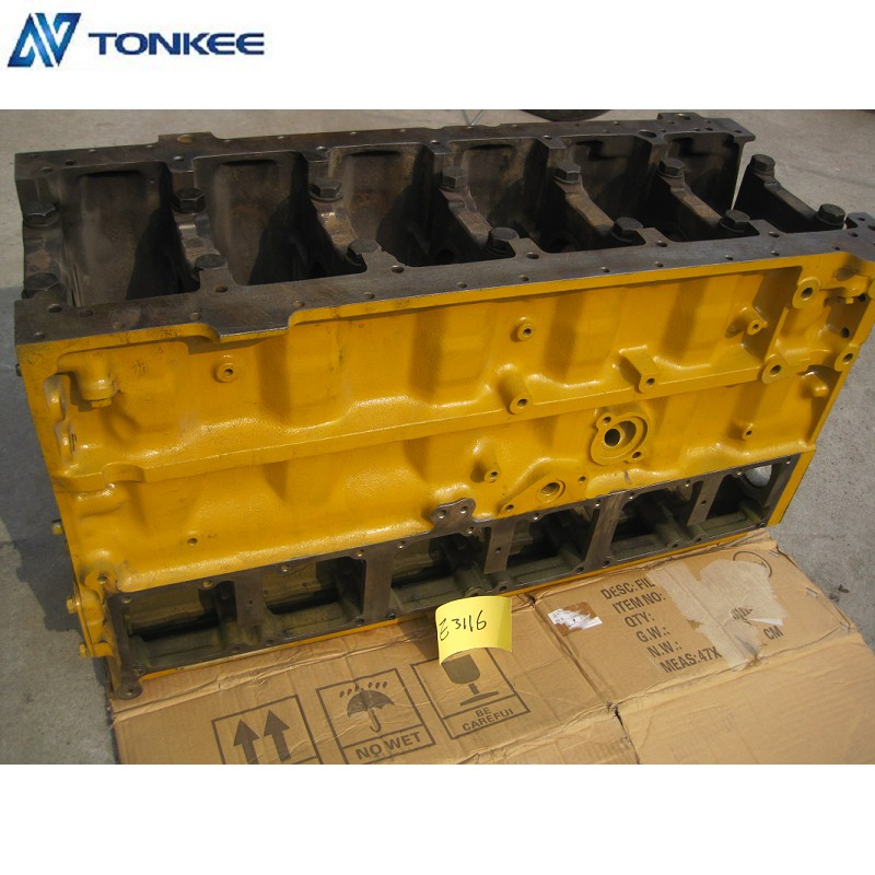 CAT Engine Cylinder Body E325 E325B excavator Cylinder Block 1495403 3116 engine block Second-hand parts