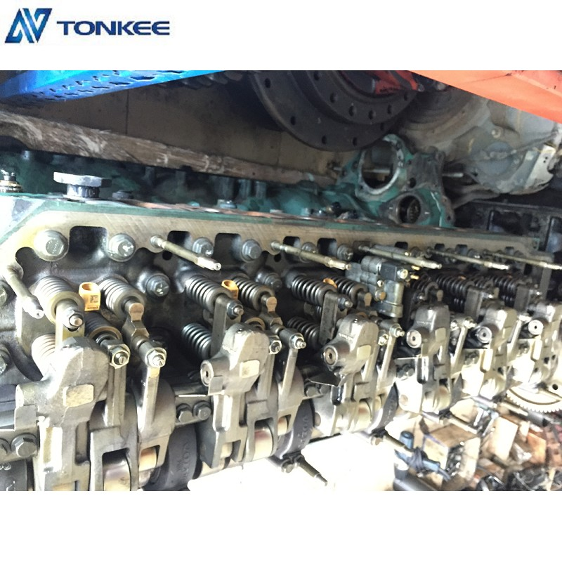 D12D original used engine short block EC360B engine long block EC460B engine block for VOLVO