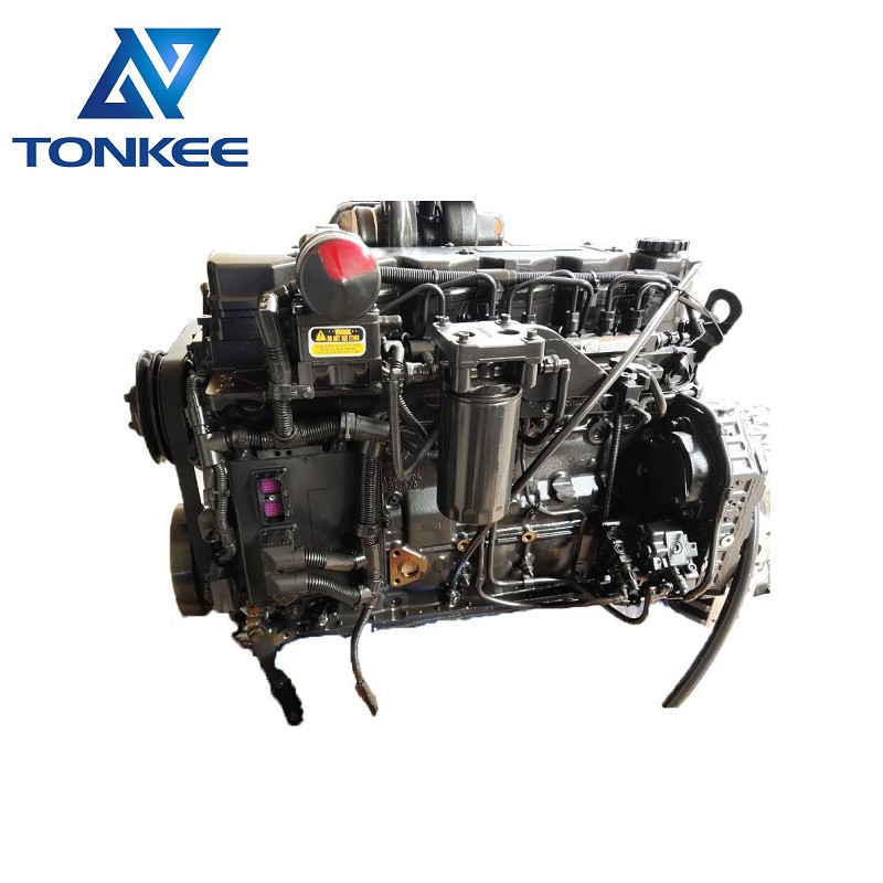 Cummins QSB6.7 Engine assy replace to 6D107 complete engine for KOMATSU PC200-8 Excavator
