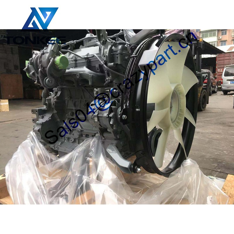 Genuine New/Used 4HK1XYSA02 Diesel Engine Assy 4HK1 Complete engine For ZX225 ZX225-3 Excavator