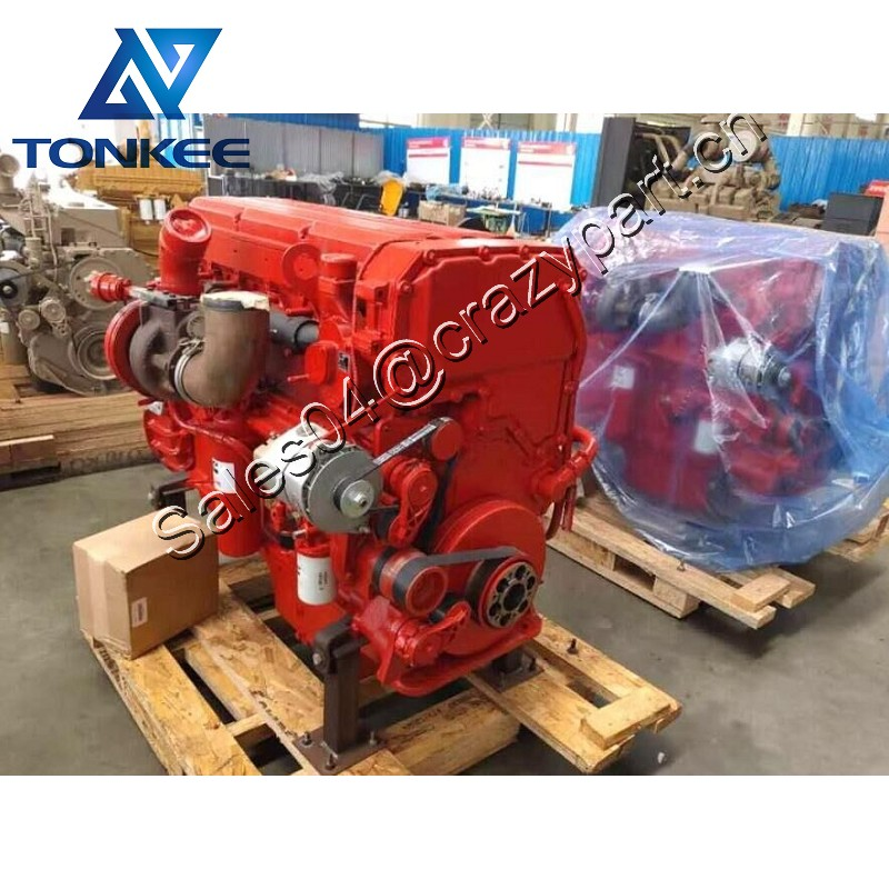 QSX15 79768857 complete diesel engine assy 525hp 2100rpm industrial earthmoving machine mining dozer diesel engine assy for sell