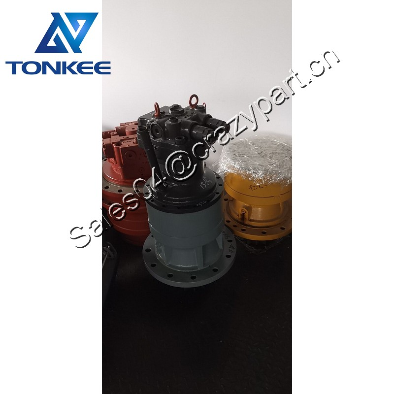 HYEST SG08E SG08E-185 KRC0226 swing motor with gearbox SH200-3 SH200A3 SH210A3 SH240 CX210 swing device assy suitable for SUMITOMO