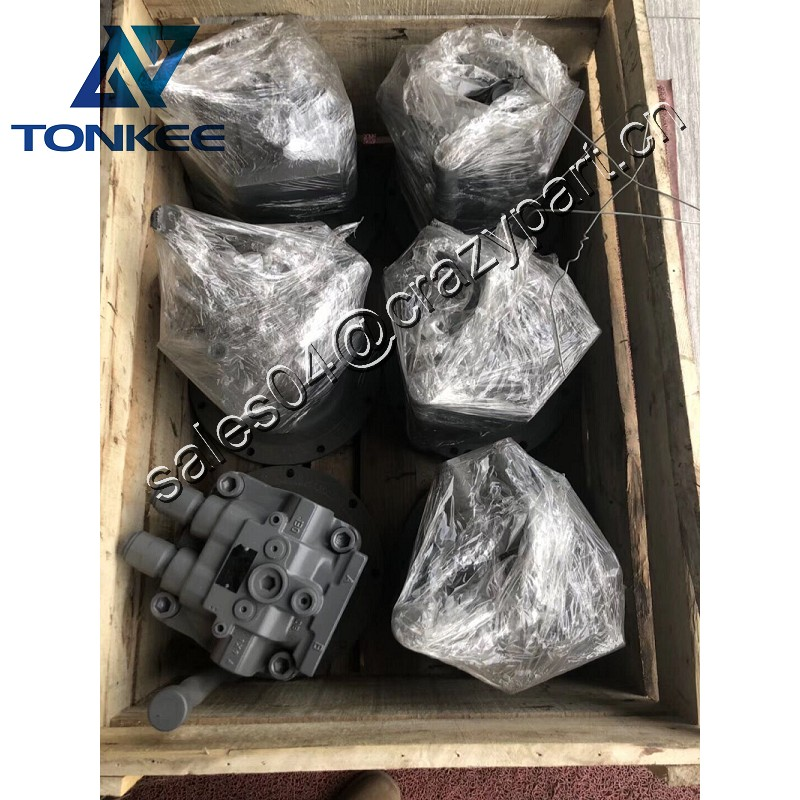 original new construction machinery parts 4398514 M5X130CHB-10A-01C-310 swing motor ZX200 ZX200-3G ZX210LC-3G rotating motor oil