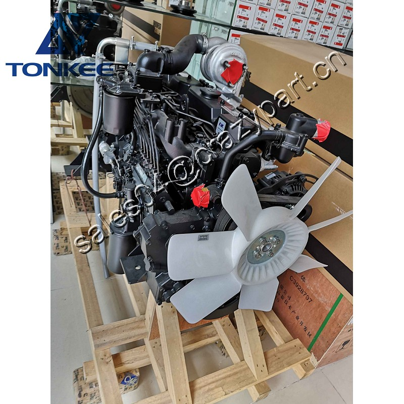 S6KT 3066 without intercooling Complete engine E320C 320C excavator diesel engine assy