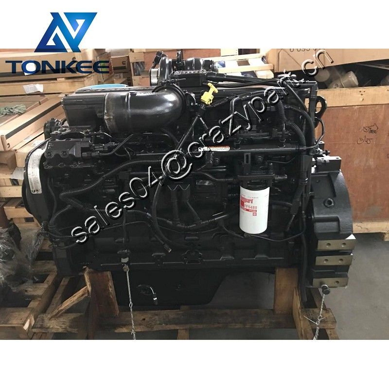 SAA6D114E-3 6D114-3 complete diesel engine assy PC300-8 PC350-8 PC360-8 excavator whole diesel engine assembly with 4933120