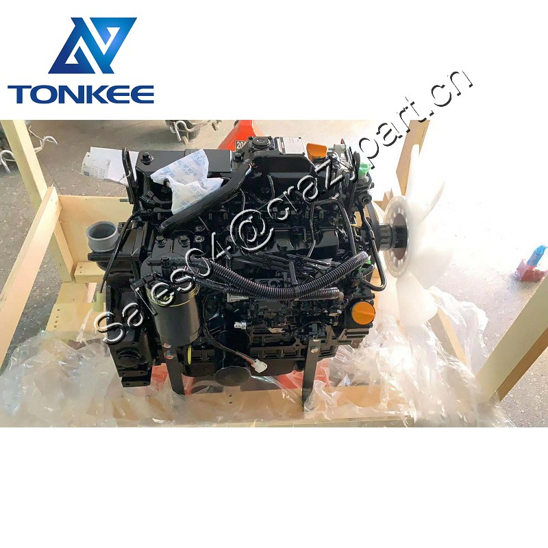 4TNV88-BSBKCC 4TNV88-BPYBE complete diesel engine assy 4TNV88 diesel engine assembly without turbo