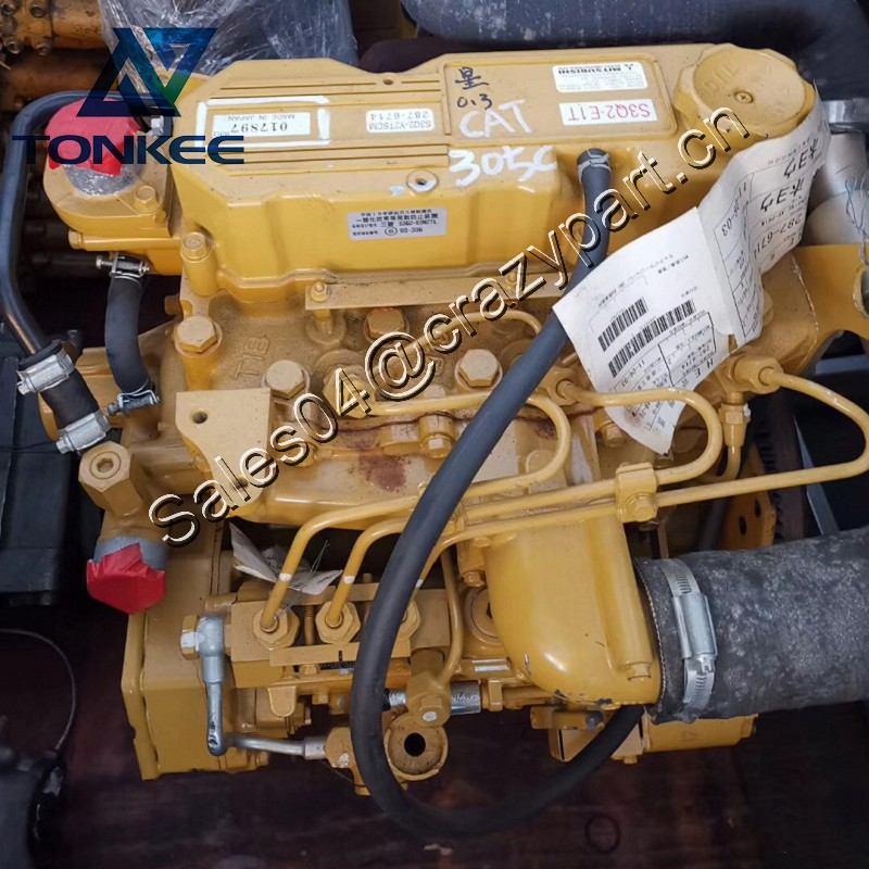 Mini Excavator 303.5C 305C Whole engine assy S3Q2-T S3Q2-E1T Complete Diesel engine