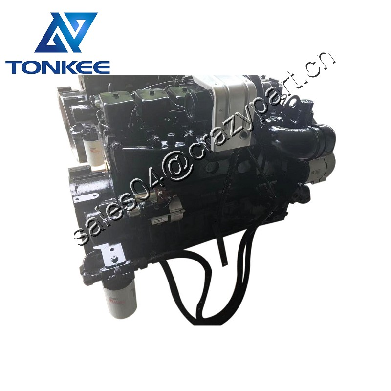 SAA6D102E-2 6BTAA5.9-C150 6BT5.9 complete diesel engine assy 112KW 1950 RPM excavator PC200-6 PC210-6 PC200-7 PC210-7 PC220-7 whole diesel engine assembly