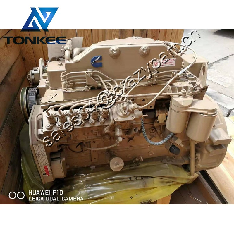 B5.9-C 6BTA5.9-C170 167HP 125KW 2000RPM complete diesel engine assy excavator R210-7 R210-9 R210W-9 whole diesel engine assembly
