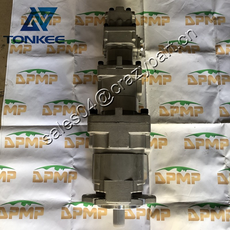705-38-39000 705-56-36051 SAR90+32+SB8+12 hydraulic gear pump WA320-5 WA320-6 loader 4 stage gear pump