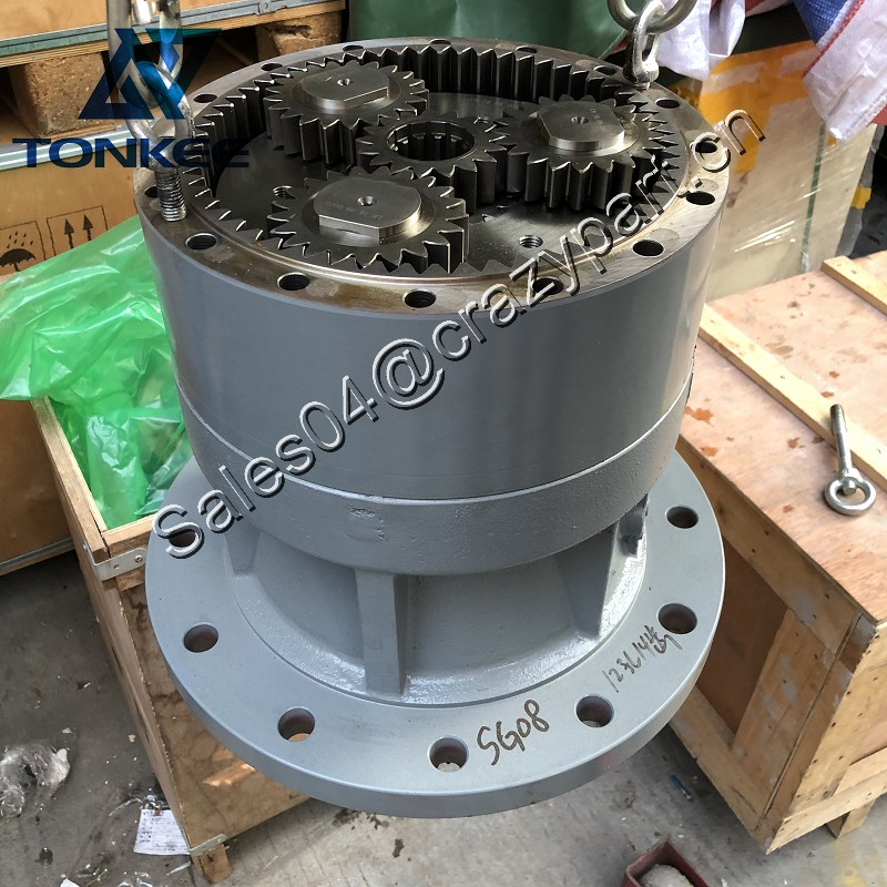 ONE YEAR TWO YEAR Warrranty KRC0209 KRC0210 swing reducer gearbox SH210A5 SH210-5 CX210 swing reduction gear SG08 Hydraulic swing gearbox