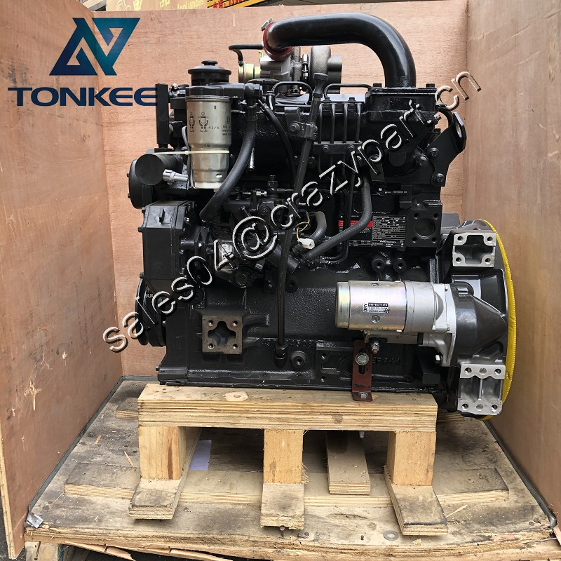 5401701 B3.3 ESN 72036207 whole diesel engine assembly 4BT3.3 Turbo 65HP 48.5KW 2600RPM excavator complete diesel engine assy
