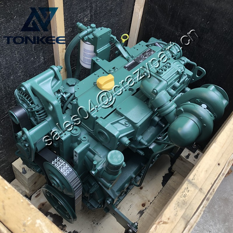 14521398 VOE14521398 D4D D4DECE2 73KW 98HP complete diesel engine assy EC140 EC140B hydraulic crawl excavator diesel engine assembly suitable for VOLVO
