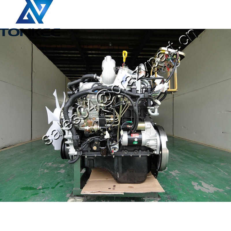 4JB1T diesel engine with high pressure common rail 62KW 68kw 4 cylinder 4 stroke 3600RPM 4JB1 light truck diesel engine suitable for Isuzu JMC Pickup truck JX493G3