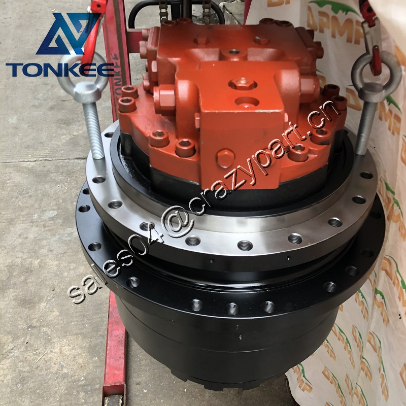 DTD 283V 290V travel motor assy DAEWOO DH290 290LC-V S290 hydraulic crawler excavator final drive assy with motor 20*24 holes