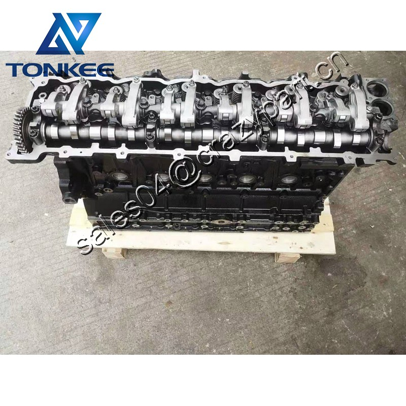 6HK1 Direct Injection Engine Cylinder block Assembly for CX330 ZX330 Excavator