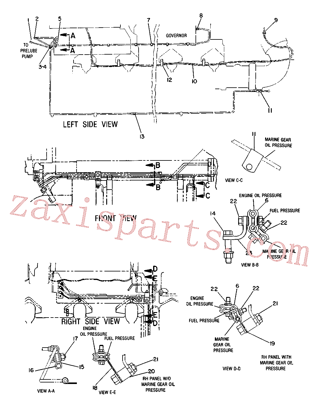 CAT 5M-5689 for 225 Excavator(EXC) attachments 3N-4830 Assembly