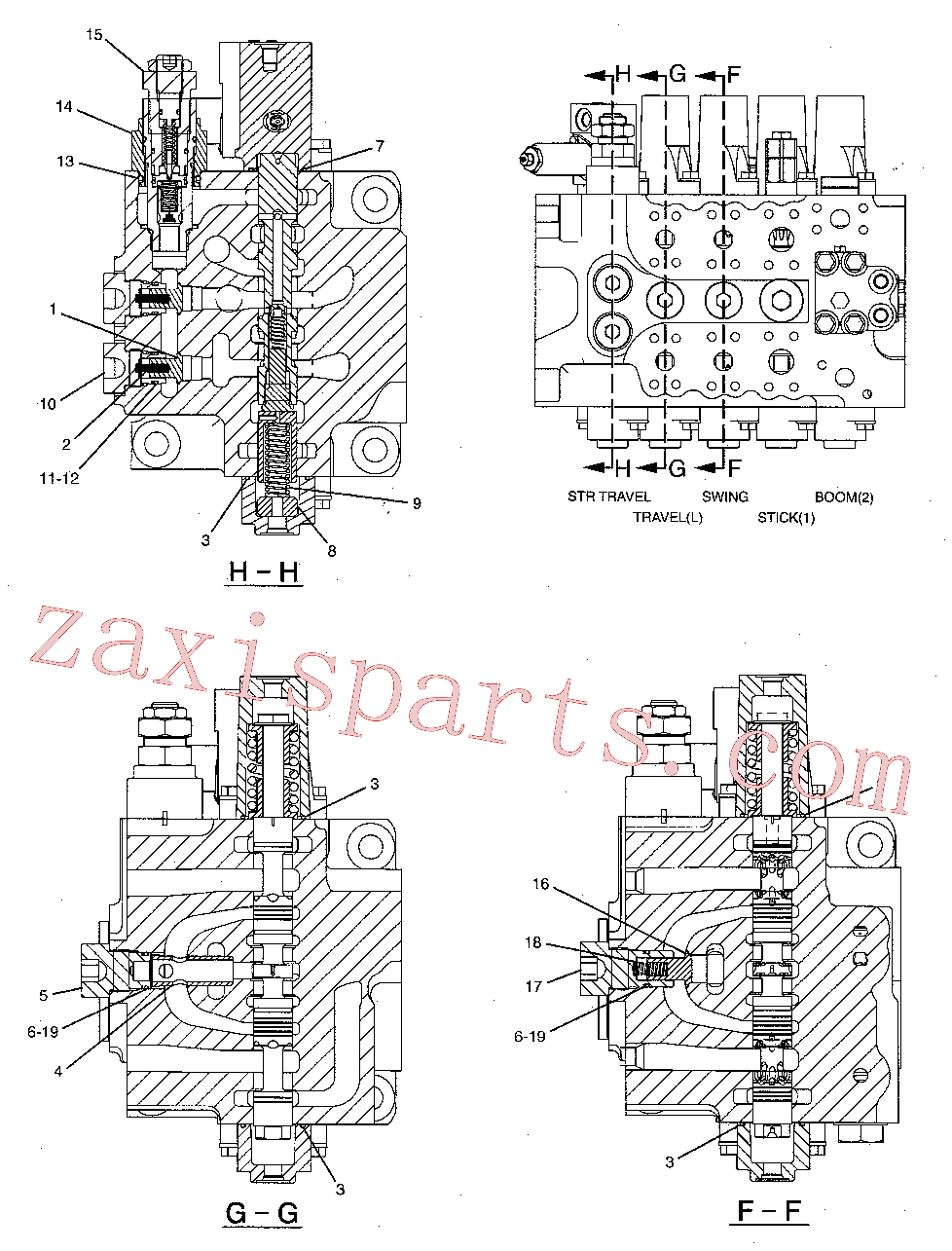 CAT 095-1778 for 325C L Excavator(EXC) hydraulic system 258-0286 Assembly