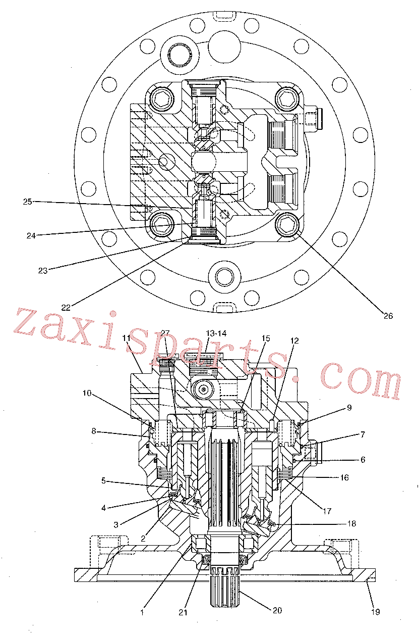 CAT 095-1595 for 323E LN Excavator(EXC) hydraulic system 191-5542 Assembly