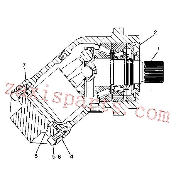 CAT 9T-2565 for 219D Excavator(EXC) hydraulic system 9T-0670 Assembly