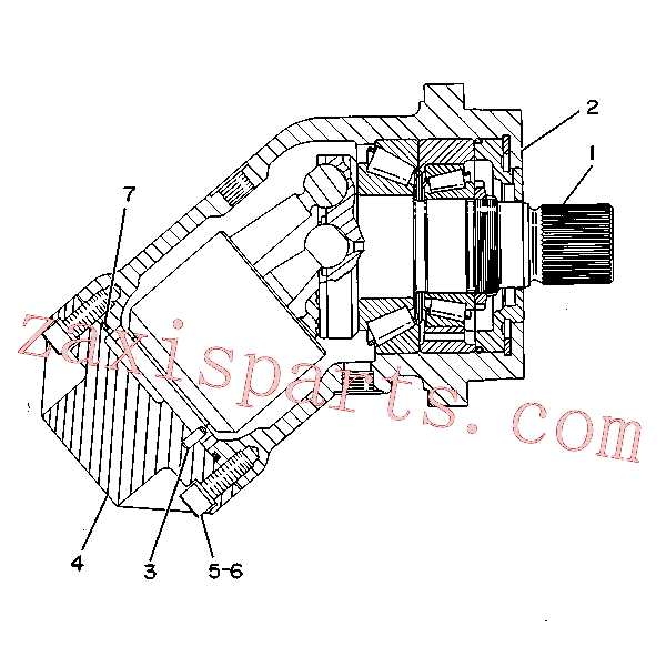 CAT 9T-2010 for D11R Track Type Tractor(TTT) hydraulic system 9T-1062 Assembly