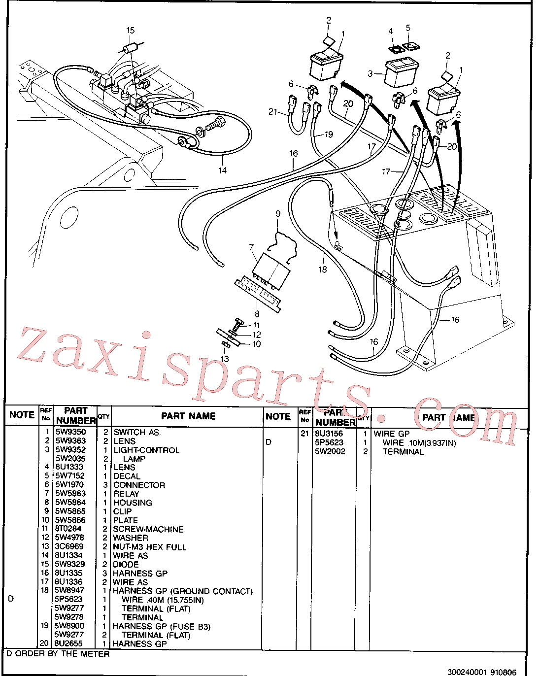 CAT 8U-1333 for 224B Excavator(EXC) hydraulic system 8U-4711 Assembly