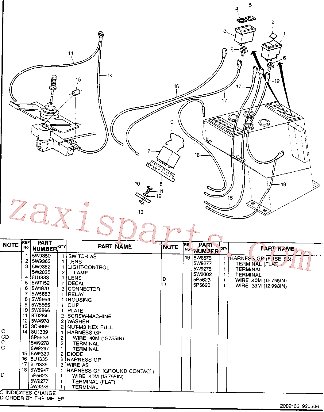 CAT 8U-1333 for 213B Excavator(EXC) hydraulic system 8U-1337 Assembly