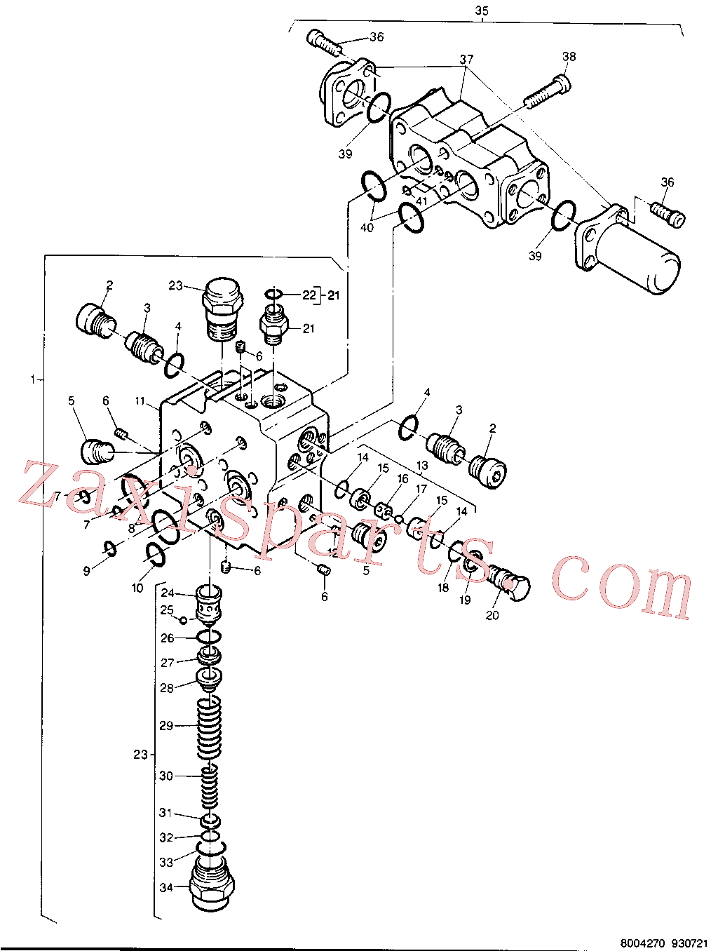 CAT 8U-2189 for 224B Excavator(EXC) chassis & undercarriage 8U-2212 Assembly