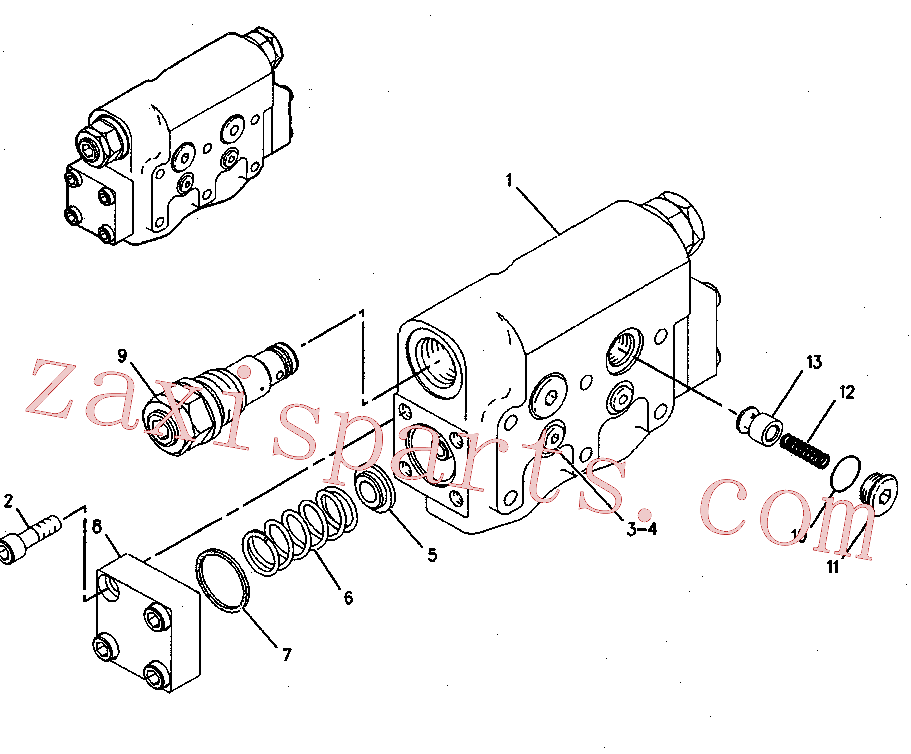 CAT 119-5364 for 313D2 Excavator(EXC) hydraulic system 137-3718 Assembly