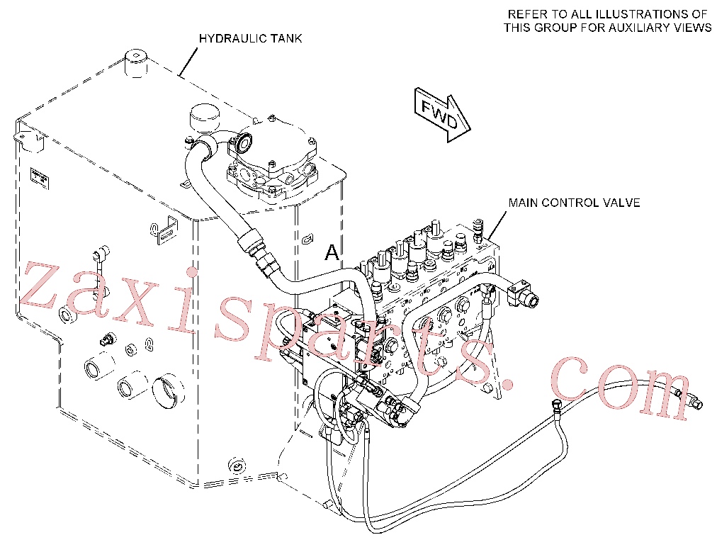 CAT 245-3868 for M320D2 Wheeled Excavator(WHEX) hydraulic system 418-8739 Assembly