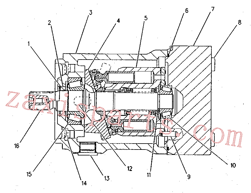 CAT 155-9123 for 330D LN Excavator(EXC) hydraulic system 155-9107 Assembly