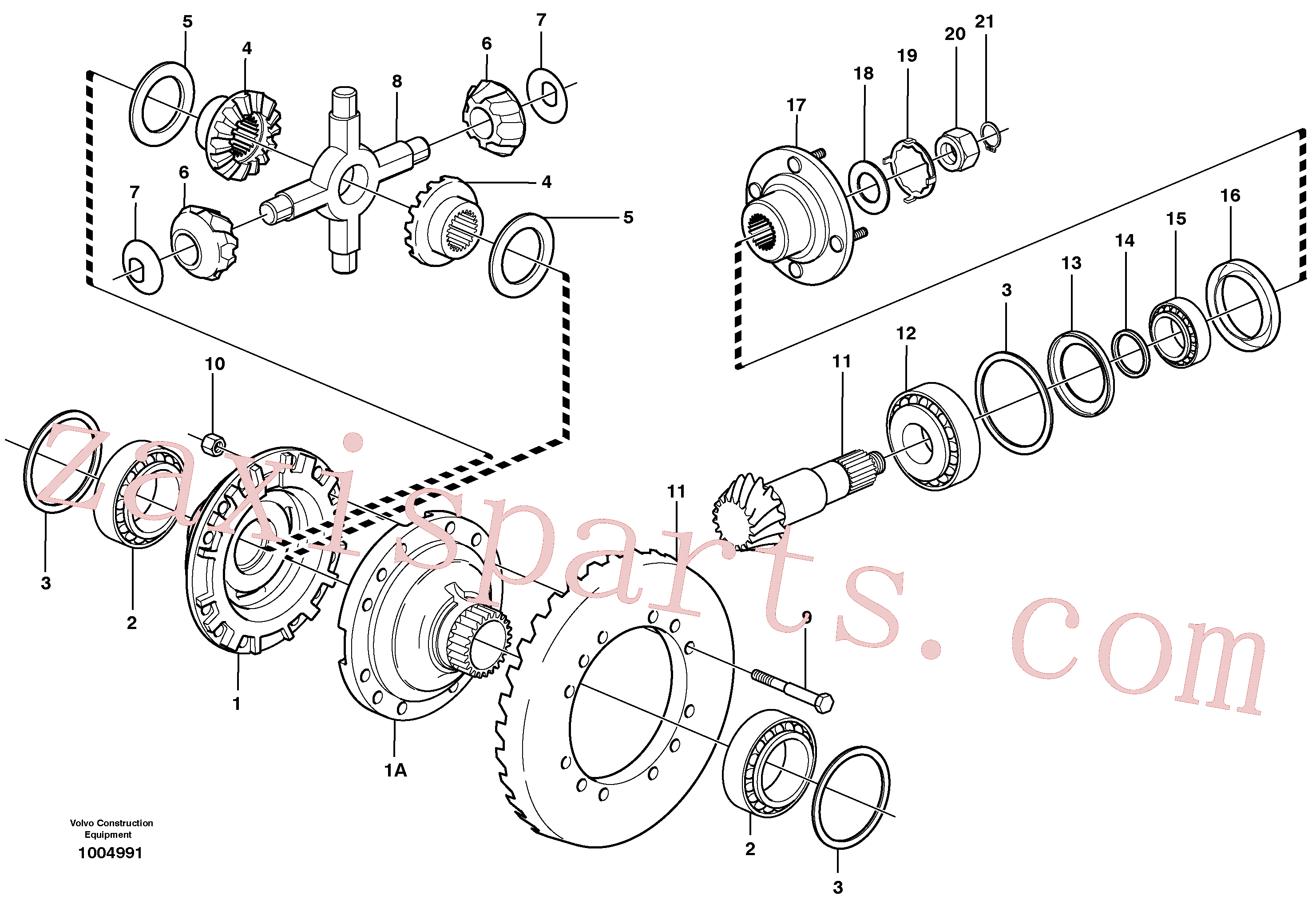 VOE11035920 for Volvo Final drive, front(1004991 assembly)