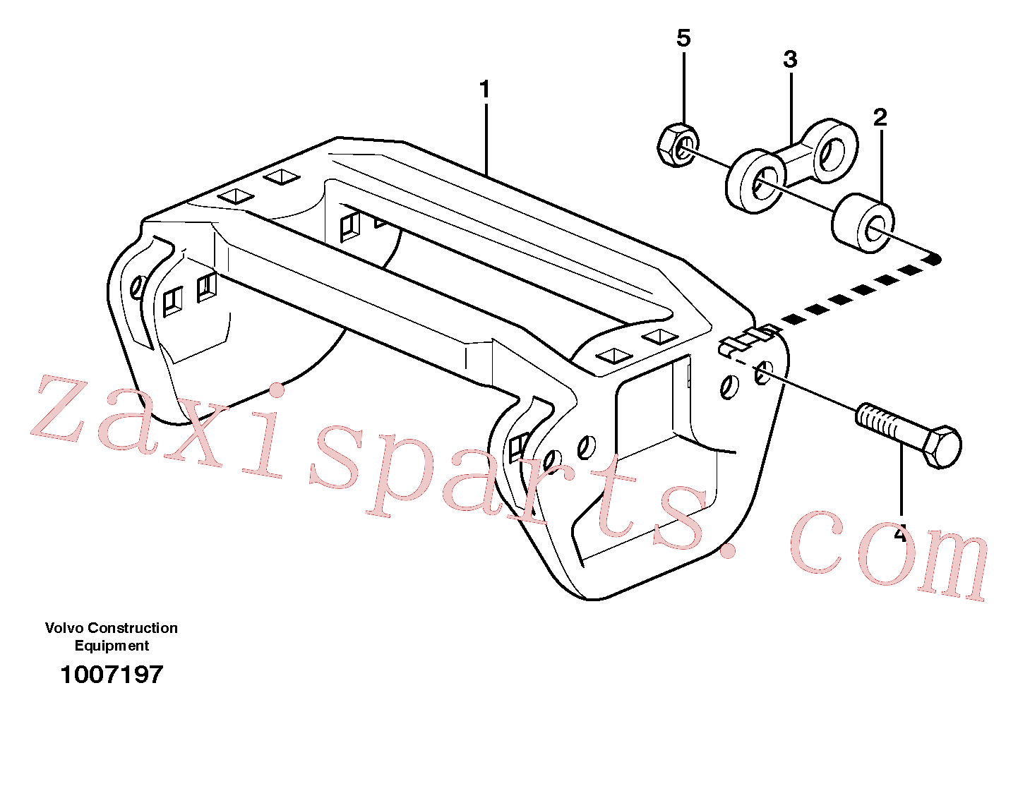 VOE11703152 for Volvo Track equipment(1007197 assembly)