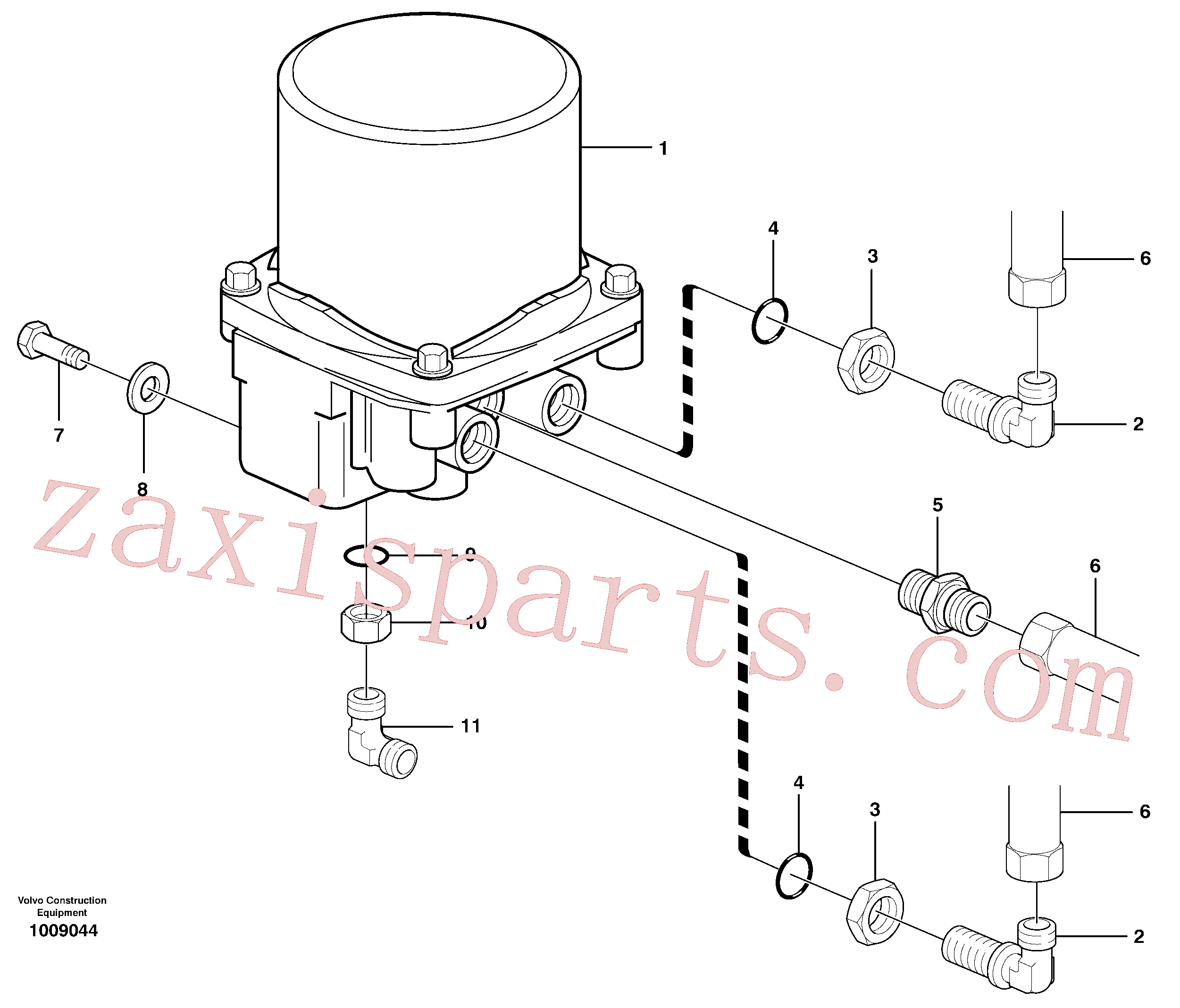 SA9041-11205 for Volvo Receiver drier(1009044 assembly)