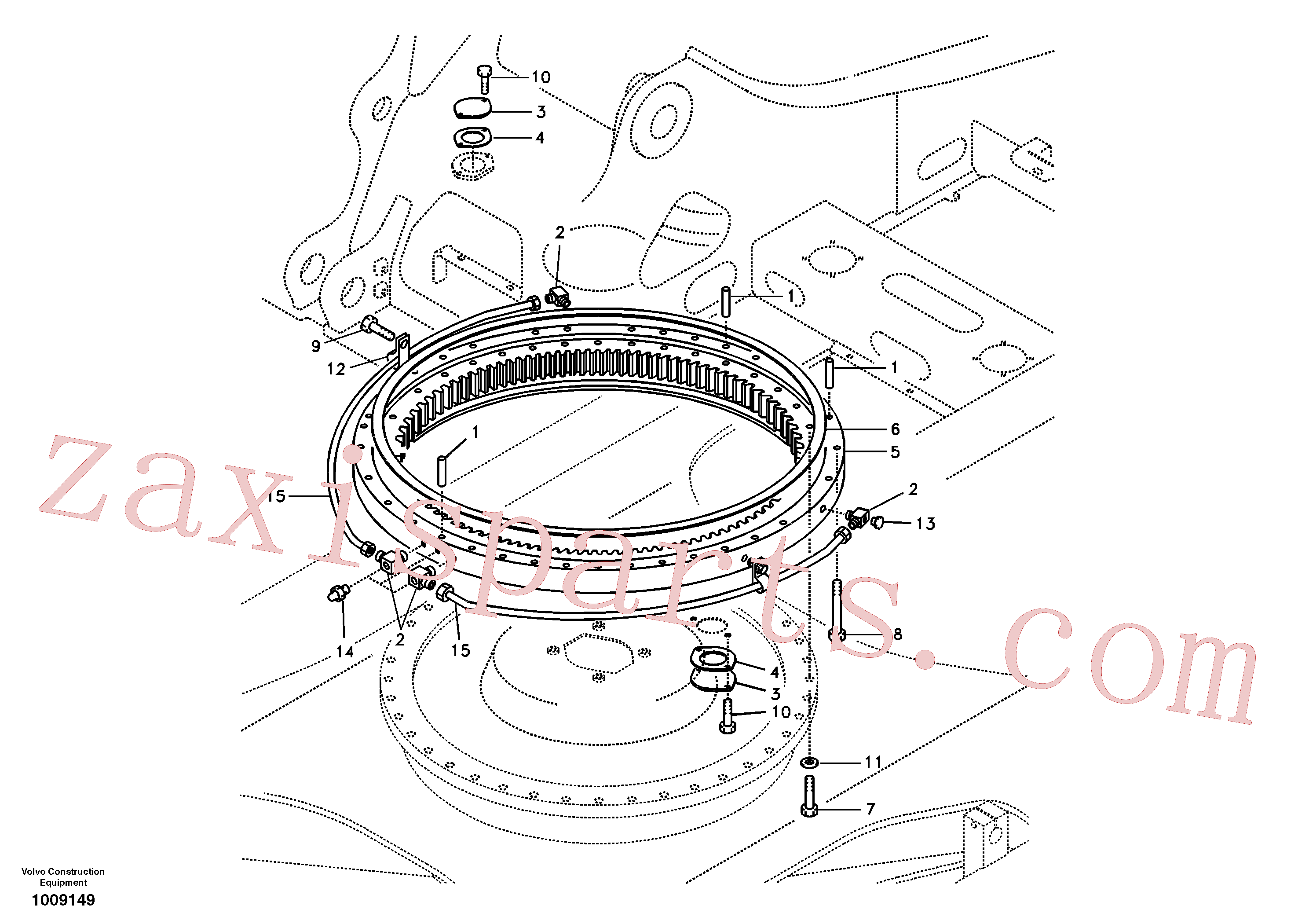 VOE14563334 for Volvo Swing system(1009149 assembly)
