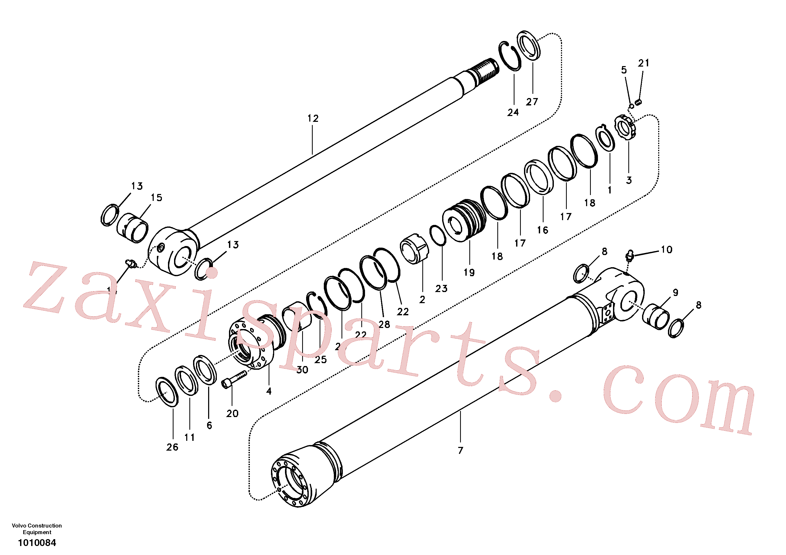 VOE14512430 for Volvo Bucket cylinder(1010084 assembly)
