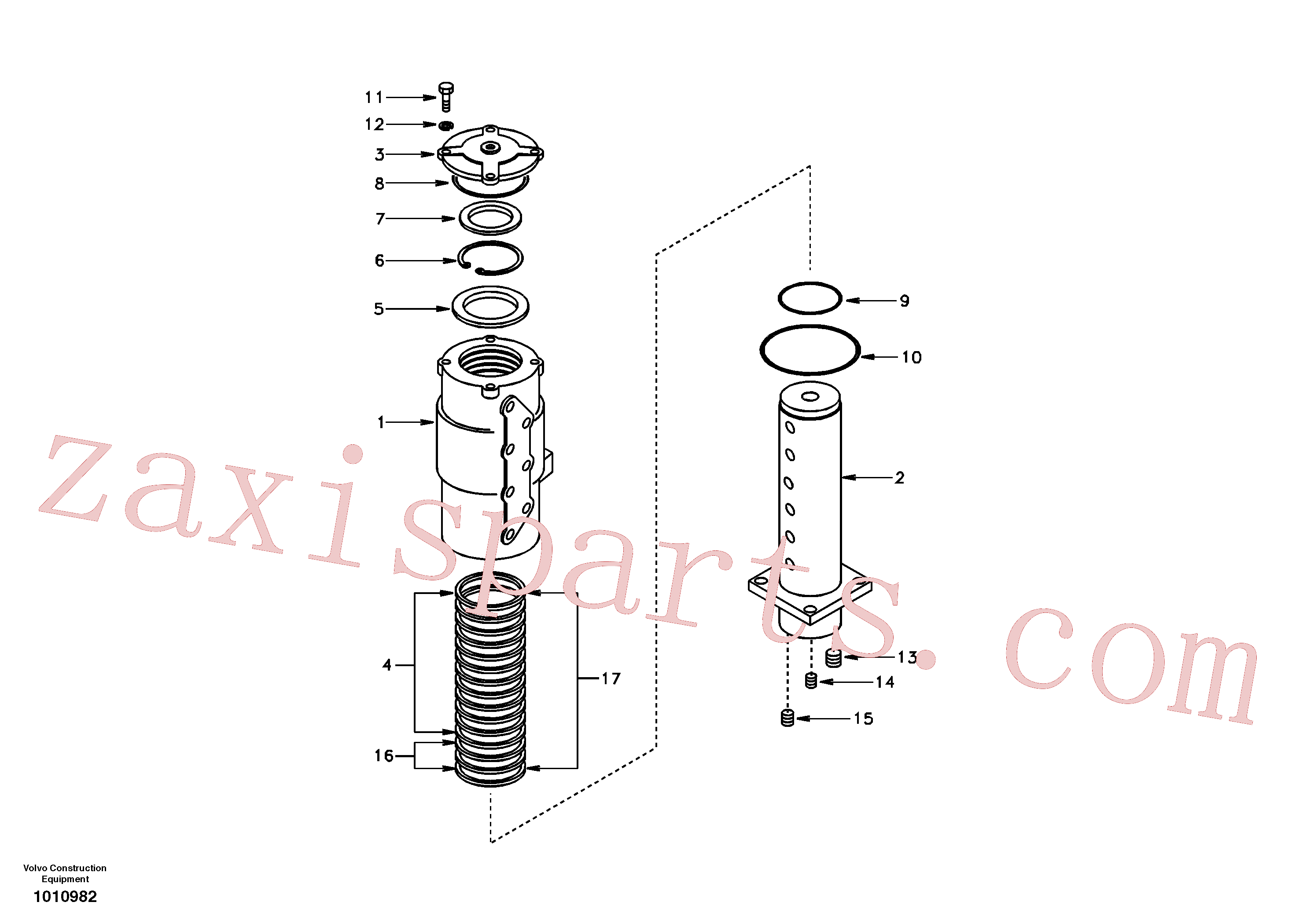 SA1046-00620 for Volvo Turning joint(1010982 assembly)