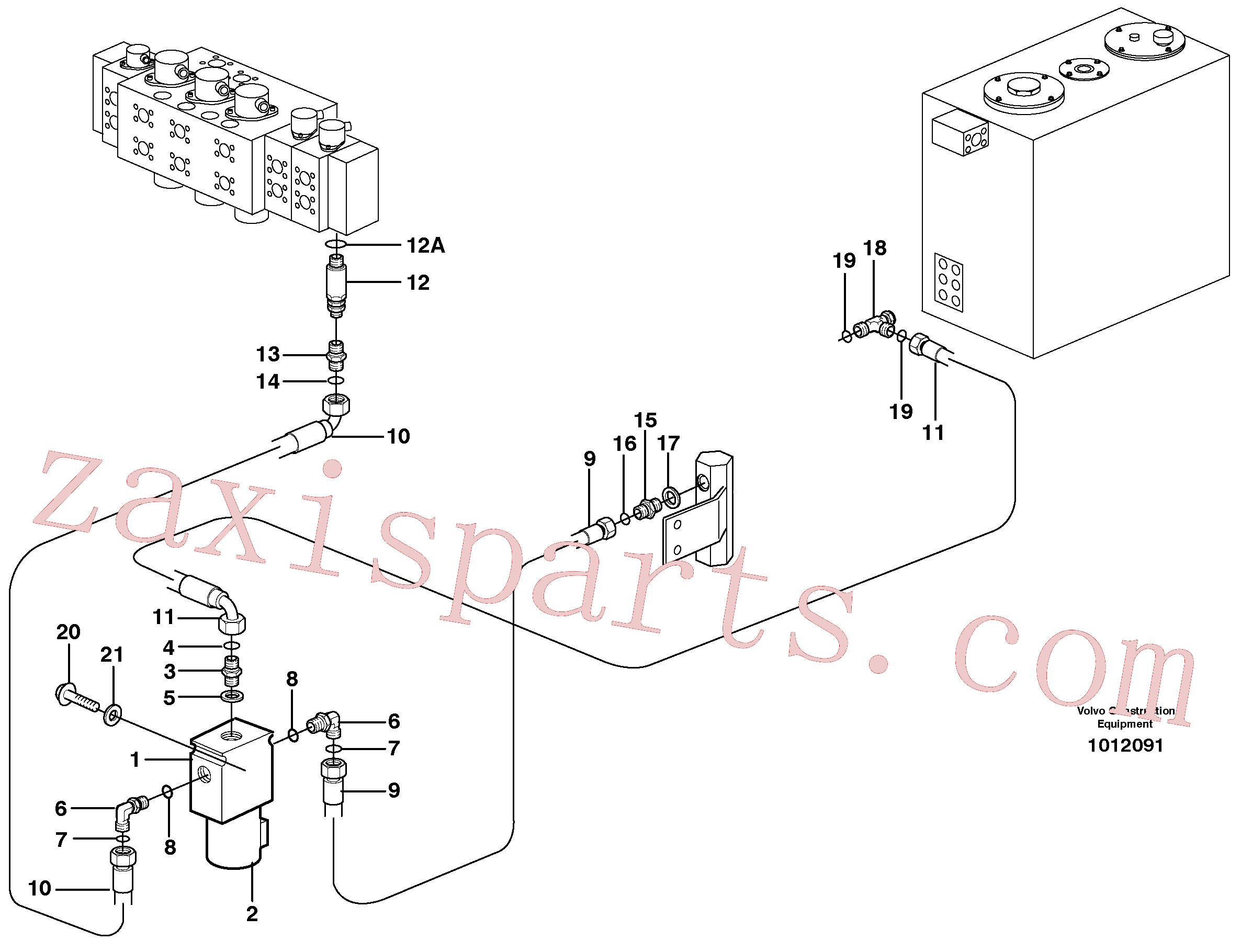 VOE13933902 for Volvo Two step pressure, X1(1012091 assembly)