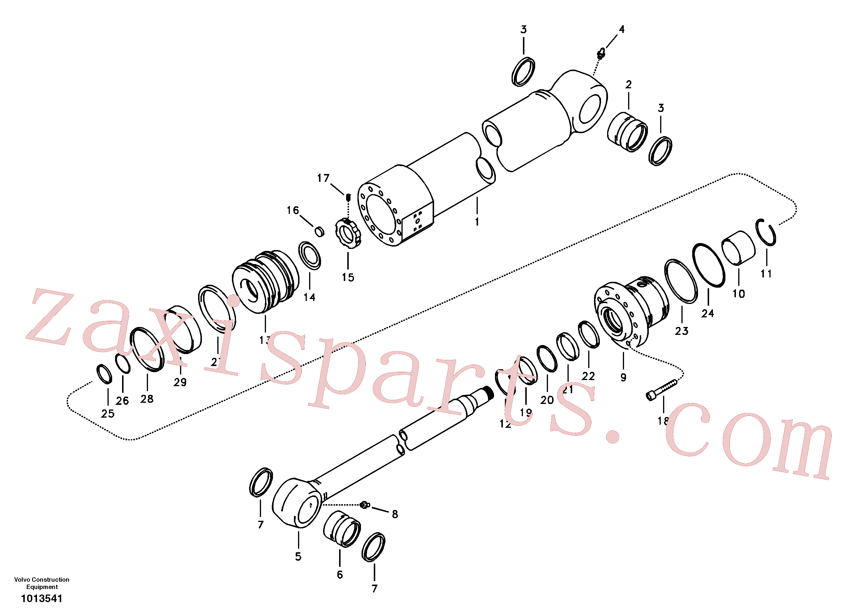 VOE14522092 for Volvo Bucket cylinder(1013541 assembly)