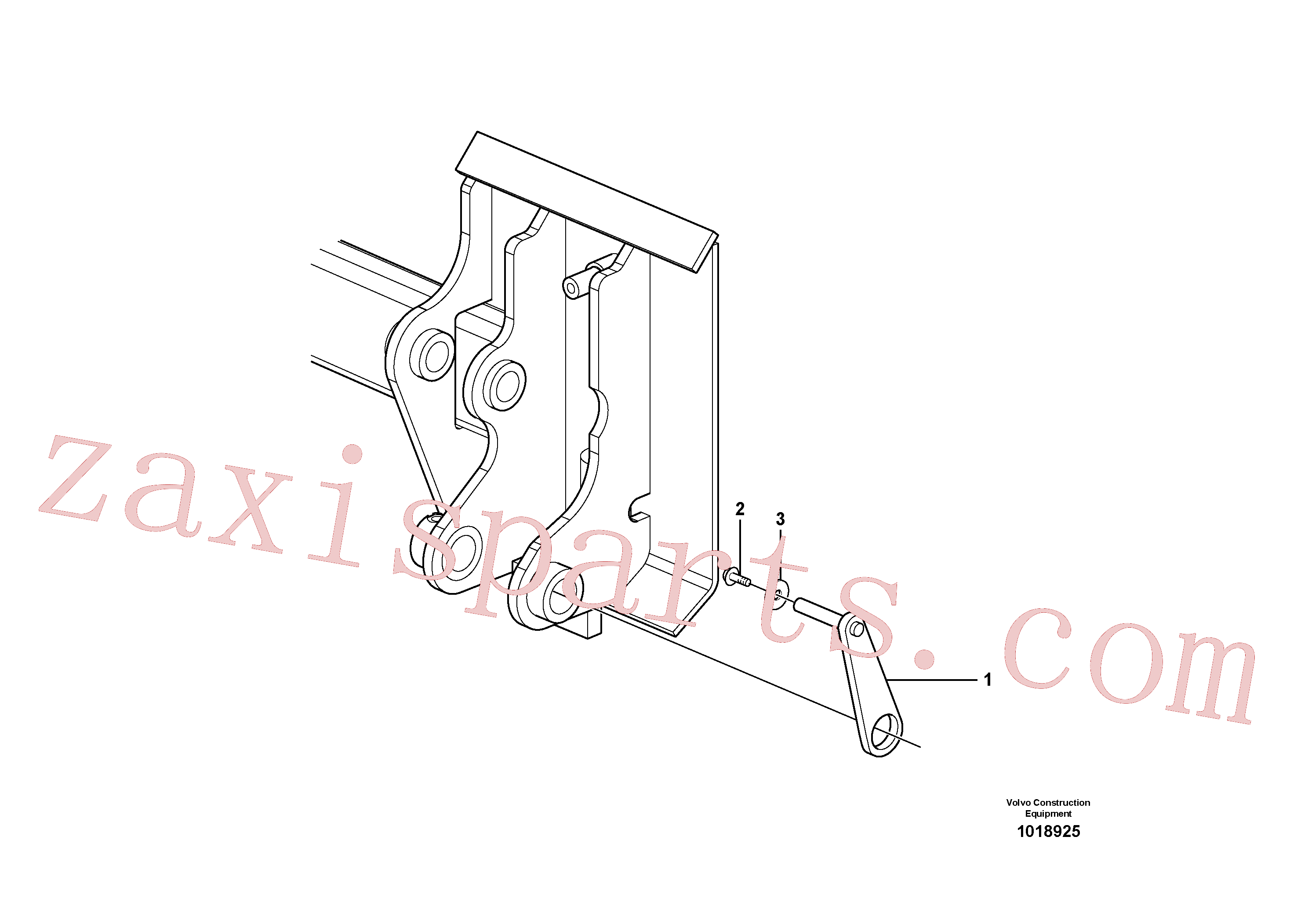VOE11997884 for Volvo Mechanical lock(1018925 assembly)