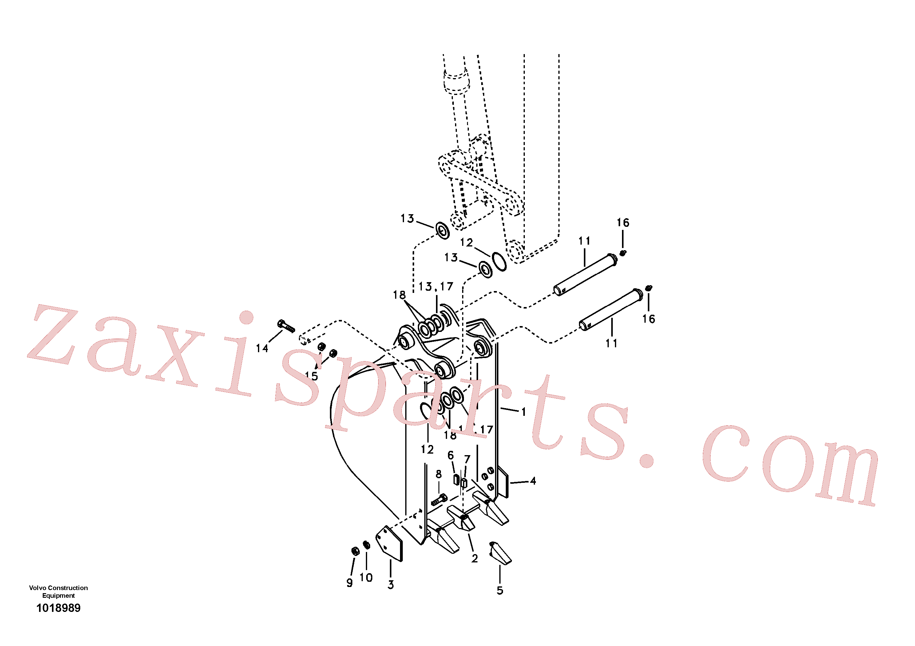 VOE14546095 for Volvo Bucket(1018989 assembly)